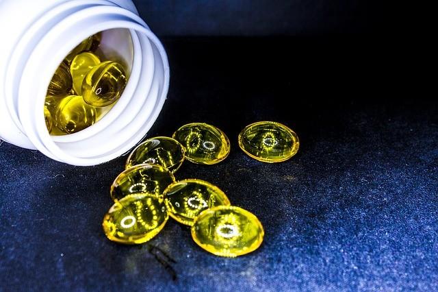 Tablets Cure Cod-liver Oil Drug Omega-6 Omega-3