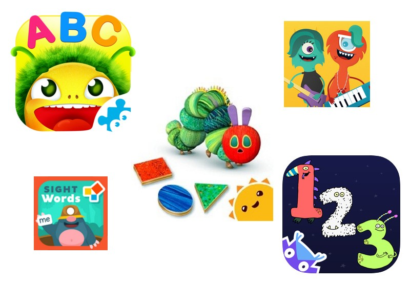 best educational apps for 3-5 year olds